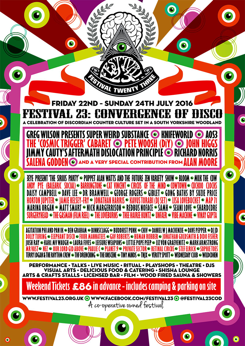 Festival 23 2016 line up